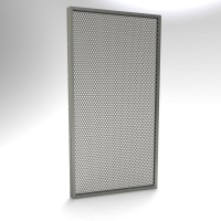 Wall Mounted Art Screen<br />45-WMArtScreen