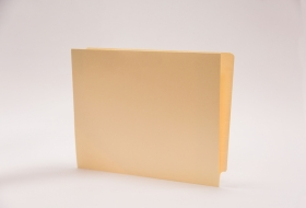 End Tab Slant Cut Left Hand Pocket Folder, 50<br />10-25754