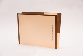 Kolor-Lok™ End/Top Tab Left Hand Pocket Folder, 50<br />12-2643XX