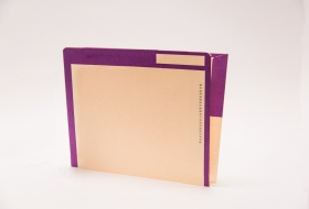 Kolor-Lok™ End Tab Right Hand Pocket Folder, 50<br />12-453XX