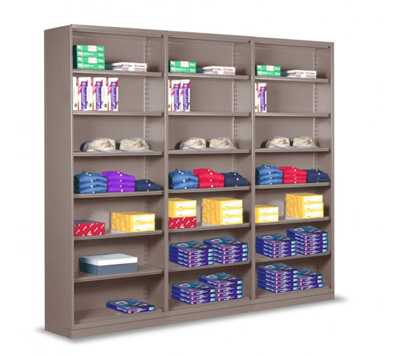 Stationary Shelving