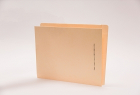 End/Top Tab Left Hand Pocket Folder with Fastener in Position 1, 50<br />12-F2643MA