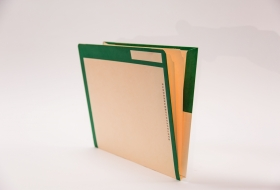 Kolor-Lok™ End Tab Right Hand Pocket Folder with Inner Folder and Fastener in Position 3, 50<br />12-FI453XX