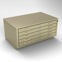 5 Drawer Flat File - Small<br />46-4226-5