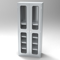 Visual Double Door Standard Duty Case<br />46-SS3618 Visual